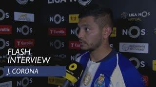 Liga (32ª): Flash Interview J. Corona