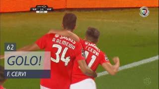 GOLO! SL Benfica, F. Cervi aos 62', SL Benfica 2-0 CD Aves