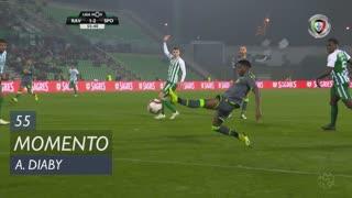 Sporting CP, Jogada, A. Diaby aos 55'