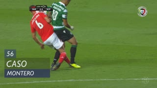 Sporting CP, Caso, Montero aos 56'
