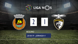 Liga NOS (4ªJ): Resumo Rio Ave FC 2-1 Portimonense