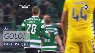 GOLO! Sporting CP, Bas Dost aos 35', Sporting CP 1-2 CD Nacional