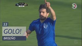 GOLO! CD Feirense, Briseño aos 53', CD Feirense 1-3 Moreirense FC