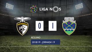 Liga NOS (19ªJ): Resumo Portimonense 0-1 GD Chaves