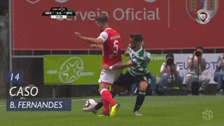 Sporting CP, Caso, Bruno Fernandes aos 14'