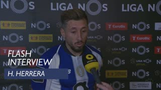 Liga (34ª): Flash Interview H. Herrera