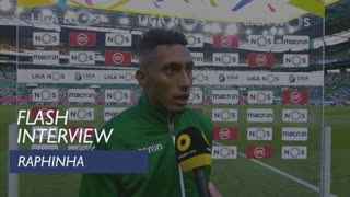 Liga (31ª): Flash Interview Raphinha