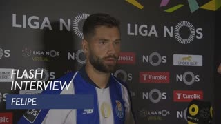 Liga (3ª): Flash interview Felipe