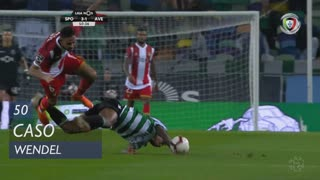Sporting CP, Caso, Wendel aos 50'