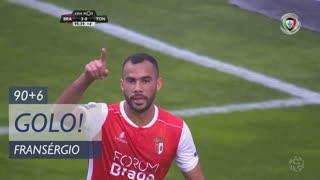 GOLO! SC Braga, Fransérgio aos 90'+6', SC Braga 3-0 CD Tondela