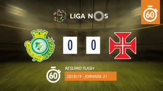 Liga NOS (21ªJ): Resumo Flash Vitória FC 0-0 Os Belenenses