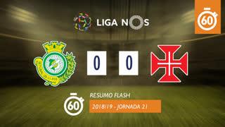 Liga NOS (21ªJ): Resumo Flash Vitória FC 0-0 Belenenses