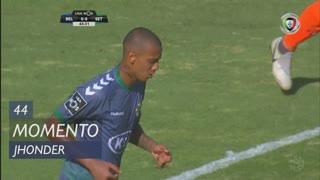Vitória FC, Jogada, Jhonder aos 44'