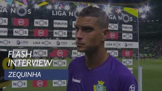 Liga (2ª): Flash interview Zequinha