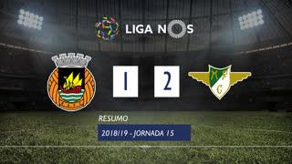 Liga NOS (15ªJ): Resumo Rio Ave FC 1-2 Moreirense FC