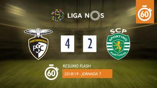 Liga NOS (7ªJ): Resumo Flash Portimonense 4-2 Sporting CP