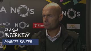 Liga (21ª): Flash Interview Marcel Keizer