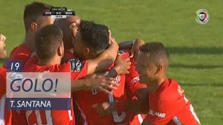 GOLO! Santa Clara, Thiago Santana aos 19', Santa Clara 1-0 Boavista FC