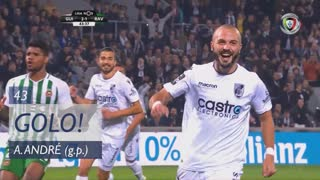 GOLO! Vitória SC, André André aos 43', Vitória SC 2-1 Rio Ave FC