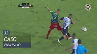 Portimonense, Caso, Paulinho aos 33'