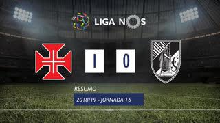 Liga NOS (16ªJ): Resumo Os Belenenses 1-0 Vitória SC