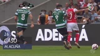 Sporting CP, Caso, M. Acuña aos 26'
