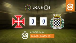 Liga NOS (10ªJ): Resumo Flash Os Belenenses 0-0 Boavista FC