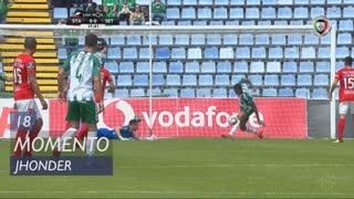 Vitória FC, Jogada, Jhonder aos 18'