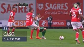 SC Braga, Caso, Claudemir aos 51'