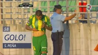 GOLO! CD Tondela, S. Peña aos 58', CD Tondela 1-1 Rio Ave FC