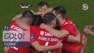 GOLO! SL Benfica, F. Cervi aos 71', SL Benfica 4-0 Marítimo M.