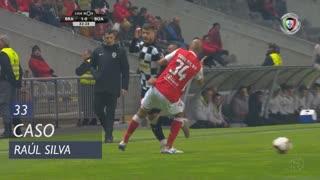 SC Braga, Caso, Raúl Silva aos 33'