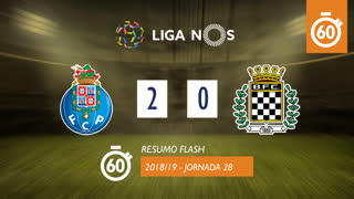Liga NOS (28ªJ): Resumo Flash FC Porto 2-0 Boavista FC