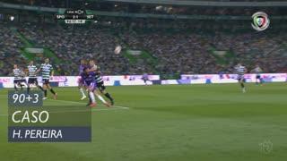 Vitória FC, Caso, Berto aos 90'+3'