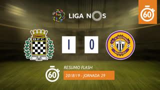Liga NOS (29ªJ): Resumo Flash Boavista FC 1-0 CD Nacional