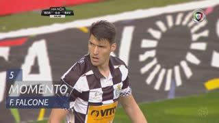 Boavista FC, Jogada, F. Falcone aos 5'