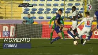 Marítimo M., Jogada, Correa aos 40'