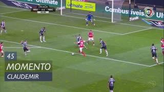 SC Braga, Jogada, Claudemir aos 45'