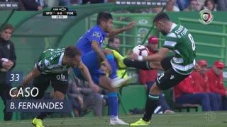 Sporting CP, Caso, Bruno Fernandes aos 33'