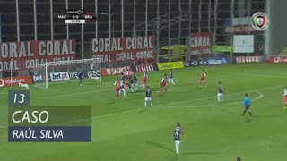 SC Braga, Caso, Raúl Silva aos 13'