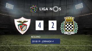 Liga NOS (4ªJ): Resumo Santa Clara 4-2 Boavista FC