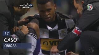 Boavista FC, Caso, Obiora aos 17'
