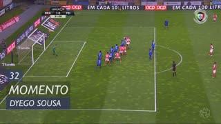 SC Braga, Jogada, Dyego Sousa aos 32'