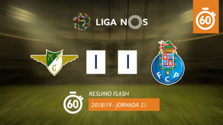 I Liga (21ªJ): Resumo Flash Moreirense FC 1-1 FC Porto