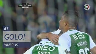 GOLO! Rio Ave FC, Vinícius aos 67', Rio Ave FC 3-1 CD Nacional