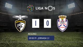 I Liga (31ªJ): Resumo Portimonense 1-0 CD Feirense
