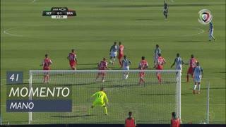 Vitória FC, Jogada, Mano aos 41'