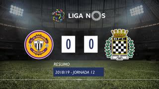 Liga NOS (12ªJ): Resumo CD Nacional 0-0 Boavista FC