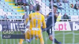 Vitória FC, Caso, Allef aos 65'