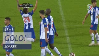 GOLO! FC Porto, Soares aos 45'+1', Santa Clara 1-1 FC Porto